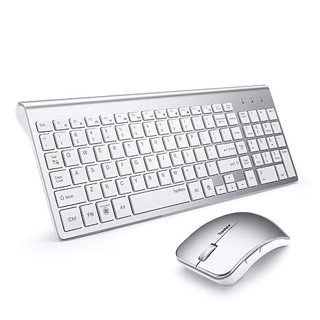 Amazon.com: TopMate KM9001 - Ratón inalámbrico para teclado ...