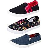 Bersache Women Combo Pack of 3(Casual Shoes With Loafer & Maccosin & Sneaker Shoe)