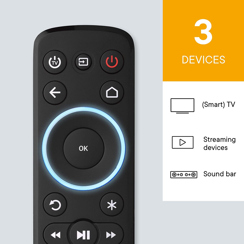 Mando a distancia universal para streaming One For All: Amazon.es ...