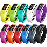 SKYLET Colorful Fitness Replacement bands for Garmin Vivofit, NOT for Garmin Vivofit 2/3/JR/HR(No Tracker)