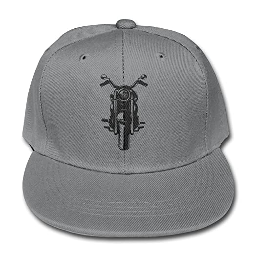 Chqeilng Oii Solid Color Baseball Cap Adjustable Trucker Hat Punk  Motorcycle for Boy-Girl 8e0fed45bc5