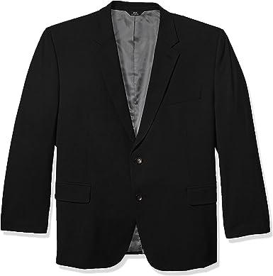 J.M Haggar Mens 4-Way Stretch Solid Gab Classic Fit Suit Separate Coat