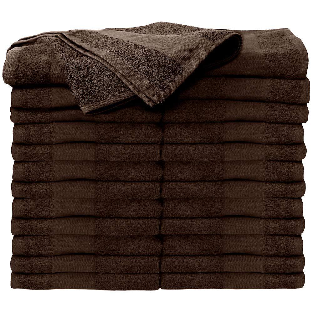 Amazon.com : ForPro Premium Bleach Tough Salon Towels, Chocolate, 100% Cotton, Bleach-Proof, Stain Resistant, 16