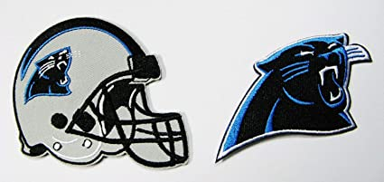 best website 85aad 425e9 Amazon.com: LOT of 2 North Carolina Panthers Embroidered ...