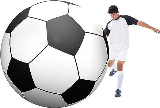 Amazon.com: GoFloats - Balón de fútbol hinchable gigante ...
