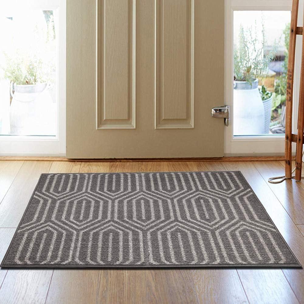 Hebe Extra Large Indoor Outdoor Doormat 32 X 48 Front Door Mat Non Slip Super Absorbent Mud Mat Entrance Way Door Rug Welcome Shoe Mat Machine Washable Floor Carpet Kitchen Dining
