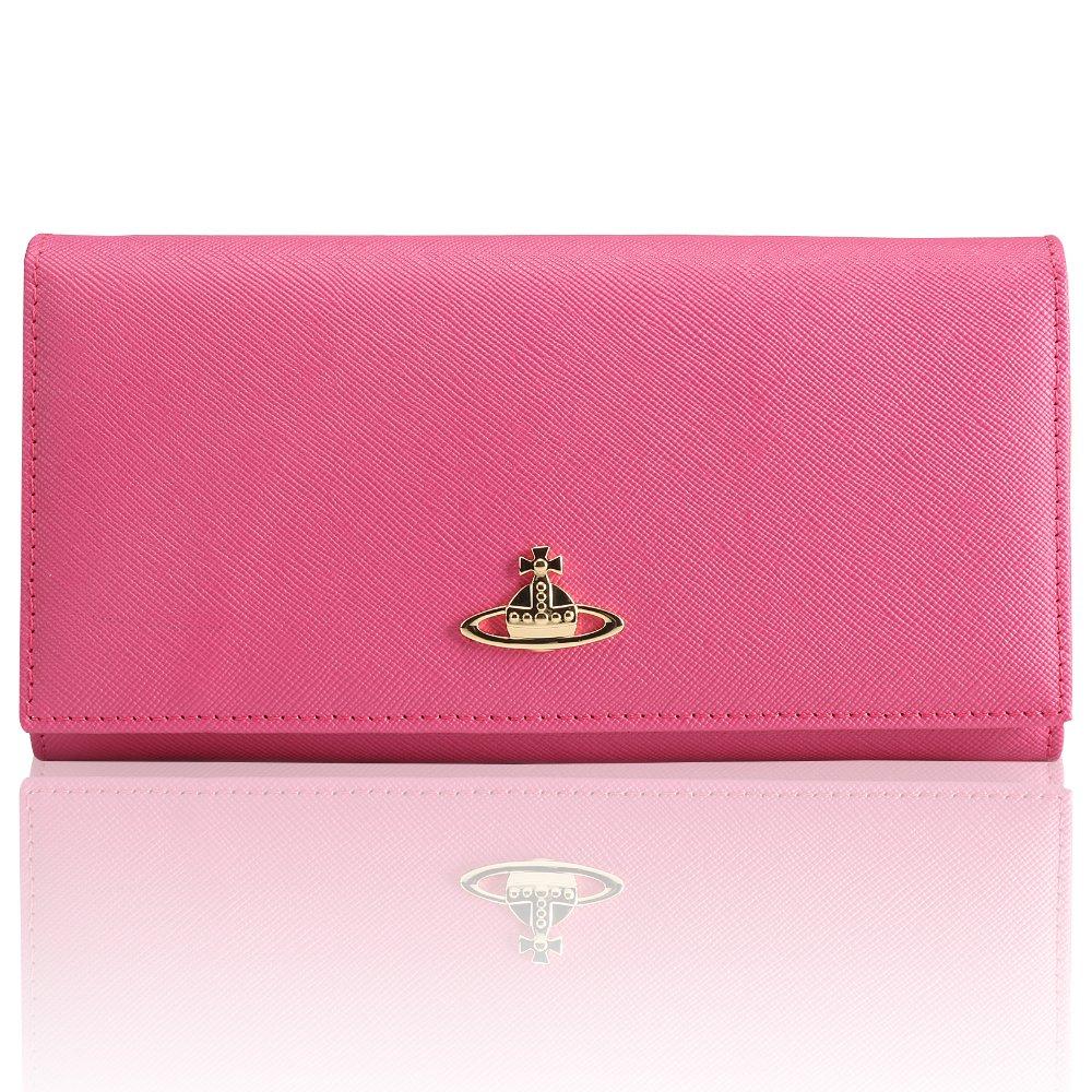 Vivienne Westwood ヴィヴィアン ウエストウッド 財布 レディース ブランド 人気 [並行輸入品] (64406, ROSE RED) B078MCNZD3