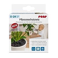Reer 83011Plante Filet de protection évite le entnehmen de fleurs Terre, diamètre 20cm, noir
