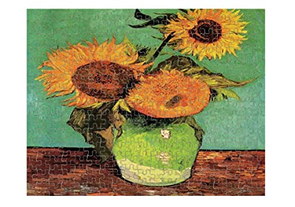 Amazon Style In Print Three Sunflowers In A Vase Van Gogh