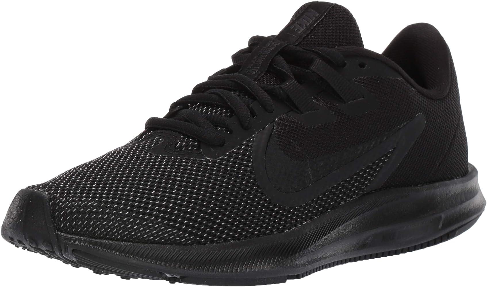 6ffdedc88461e Women's Downshifter 9 Running Shoe, Black-Anthracite, 12 Regular US