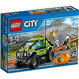 LEGO - 60121 - City - Jeu de construction  - Le Camion d'Exploration du Volcan