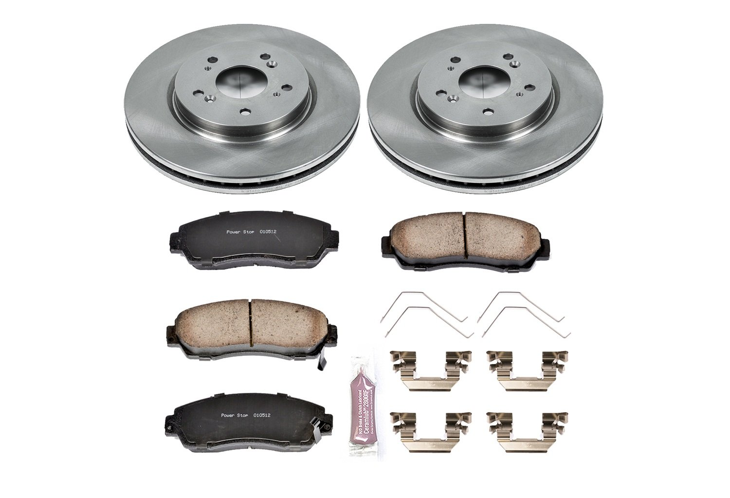 Autospecialty KOE5432 1-Click OE Replacement Brake Kit Power Stop