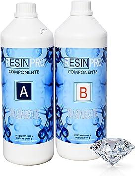 Wonderlijk Epoxyhars ultra transparant 1,6 kg, twee componenten, water-effect WD-51