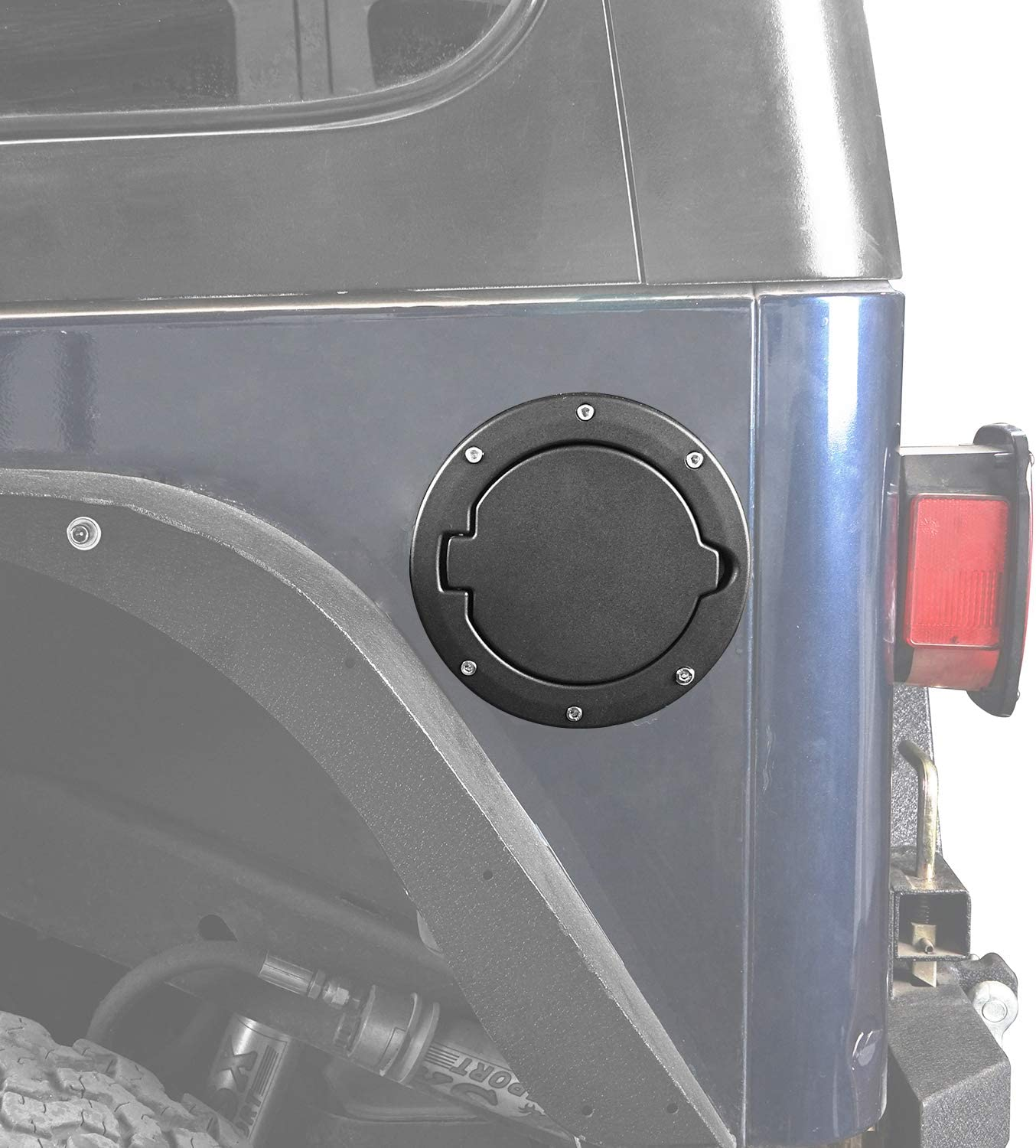 u-Box Jeep Wrangler TJ 97-06 Fuel Gas Tank Cap Cover