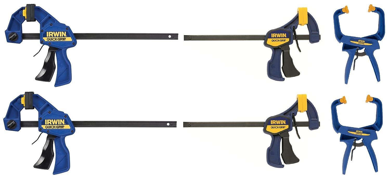 Amazon.com: IRWIN Tools VISE-GRIP Clamp Set, 6-Piece (SET150): Home ...