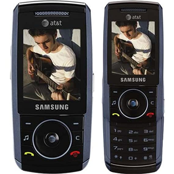 SAMSUNG SGH A737 SLIDE CAMERA BLUETOOTH PHONE ATT CINGULAR