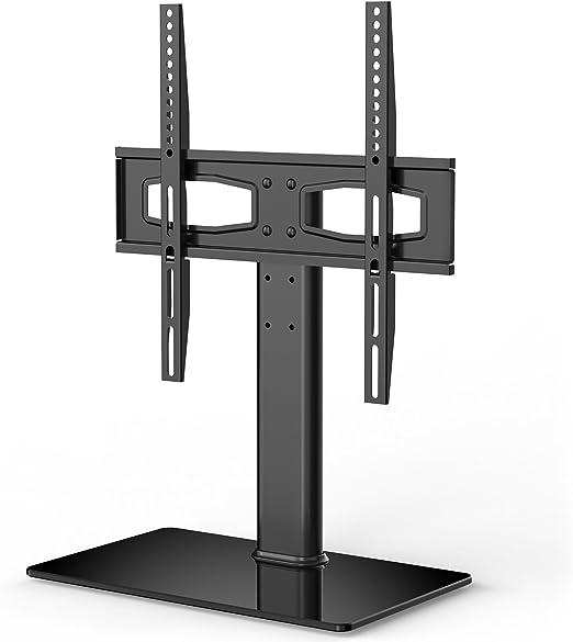 Fitueyes - Soporte universal para TV de mesa con soporte para televisores de pantalla plana de 27 a 55 pulgadas Vizio/Sumsung/Sony Tvs/Xbox One/TV Componentes Max VESA 400 x 400: Amazon.es: Electrónica