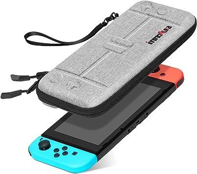 Ultra Delgada Funda de Transporte para Nintendo Switch, innoAura Portátil Rígida Ligera Protectora Estuche de Viaje, 8 Cartuchos de Juego: Amazon.es: Electrónica