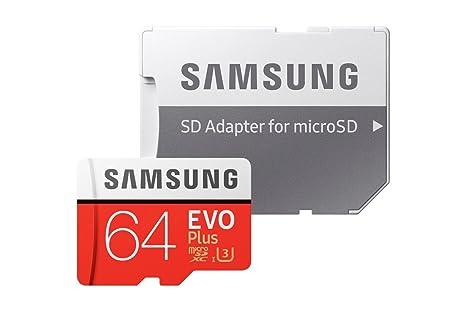 Branded Samsung - Tarjeta de Memoria microSDXC de 64 GB EVO para ...