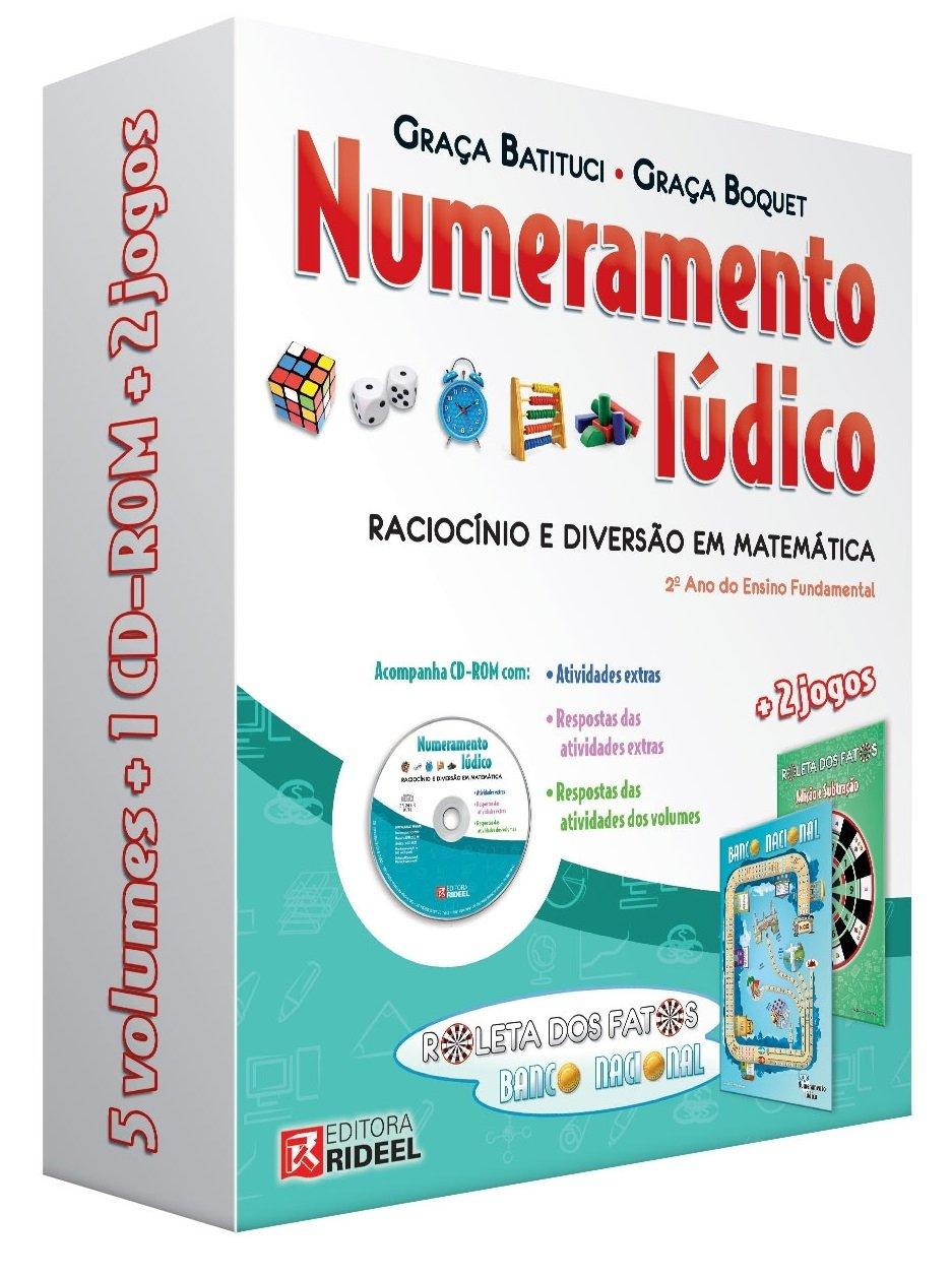 Coleção Numeramento Lúdico. Raciocínio e Diversão em Matemática (Em Portuguese do Brasil): Graça Batituci: 9788533932586: Amazon.com: Books