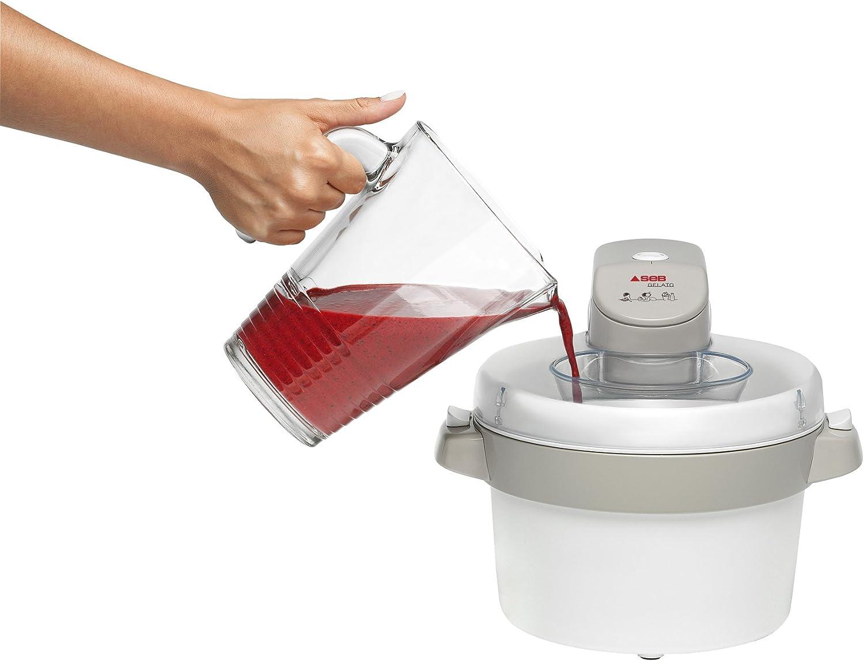 Sorbetière Électrique ,Machine à Glace Gelato SEB IG500131, imychic