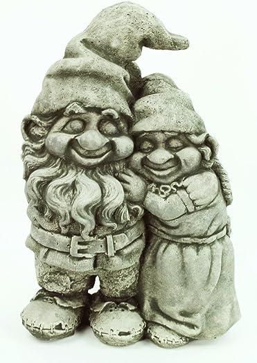 Fleur de Lis Garden Ornaments LLC Love Gnomes Statue