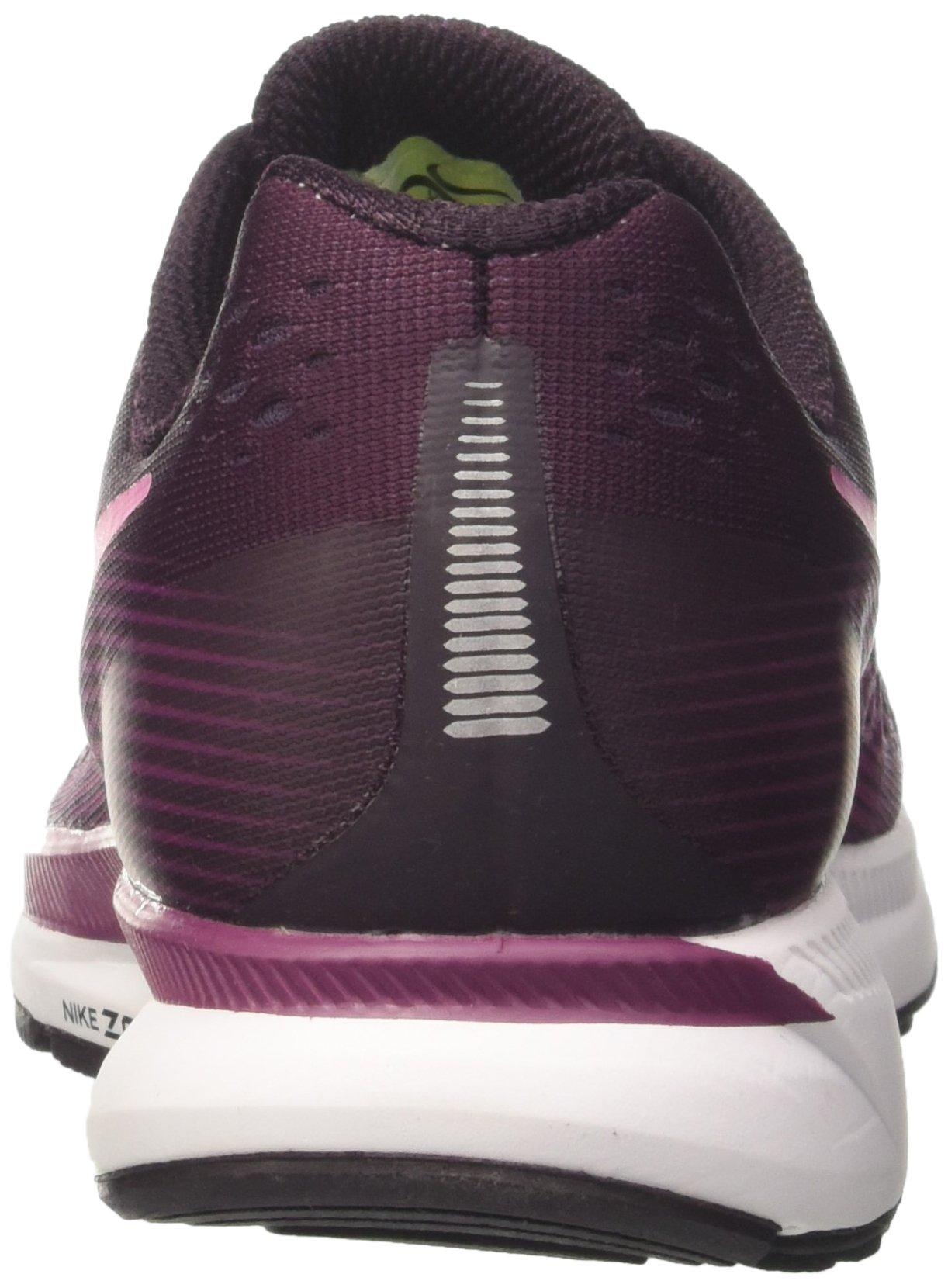 NIKE Women's Air Zoom Pegasus 34 Port Wine/Deadly Pink Running Shoe 7 Women US by NIKE (Image #2)
