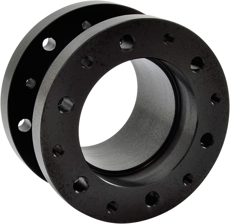 Schwarz 50mm Lenkradnaben Verl/ängerung Distanzst/ück aus Aluminium