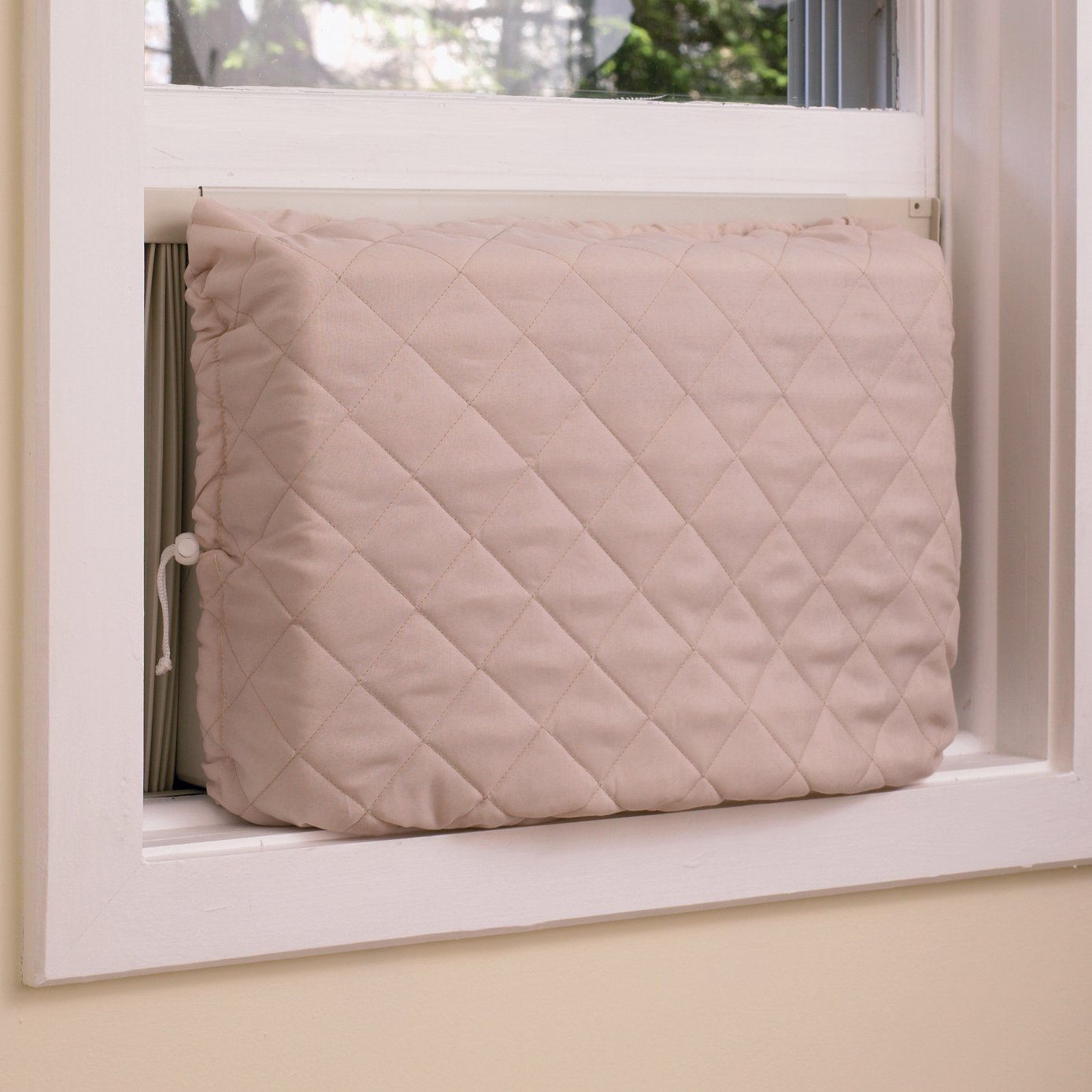 Twin Draft Guard Indoor Air Conditioner Cover   Keep Air Conditioner Clean:  Amazon.ca: Home U0026 Kitchen