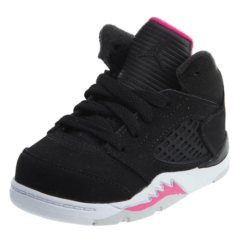 BLACK BLACK-DEADLY PINK-WHITE Jordan Air Jordan 11 Retro Low Big Kids