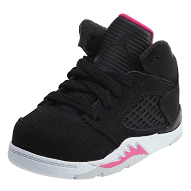 competitive price 5d726 b6eb2 Amazon.com | Jordan Nike Toddler 5 Retro Girls Fashion ...