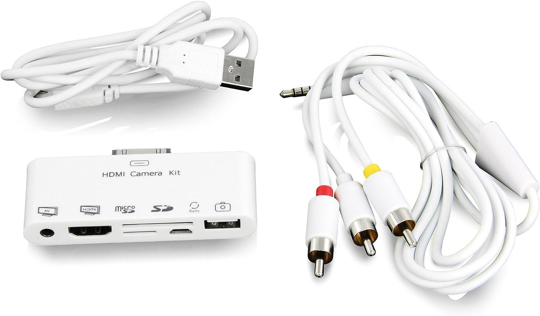 LEICKE® Hebron - 6 en 1 Puerto de conexiones para iPad   HDMI: Amazon.es: Electrónica