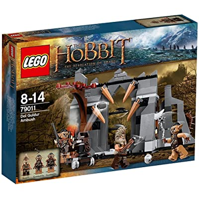 LEGO The Hobbit: An Unexpected Journey 79011: Dol Guldur Ambush: Toys & Games