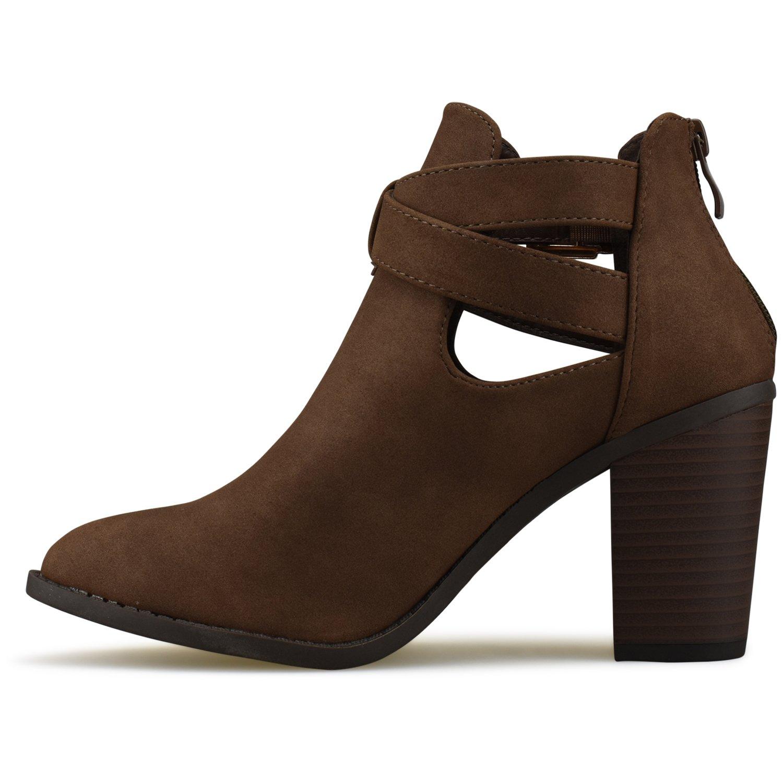 b041a041cd1 Premier Standard - Women's Strappy Block Heel Ankle Booties