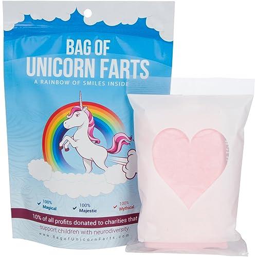 Bag of Unicorn Farts (Cotton Candy) Funny Unique Present Stocking Stuffer White Elephant