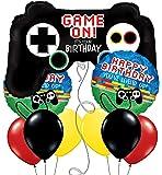 Video Game Controller Gaming Birthday Design Set of 9