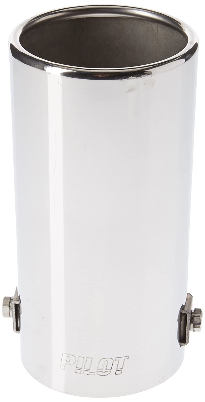 Edelstahl Durchmesser 80 x 70 mm Lampa 60054 Auspuffblende T-2 Oval