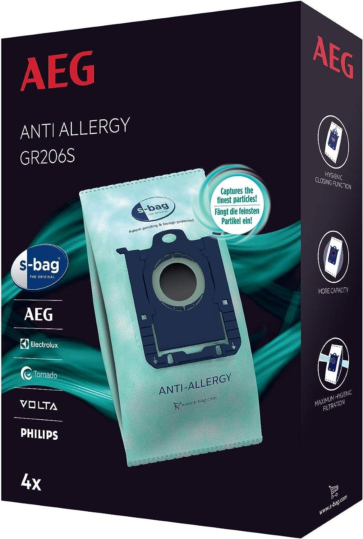 AEG GR206S Bolsa S-Bag Anti-Allergy Blanco