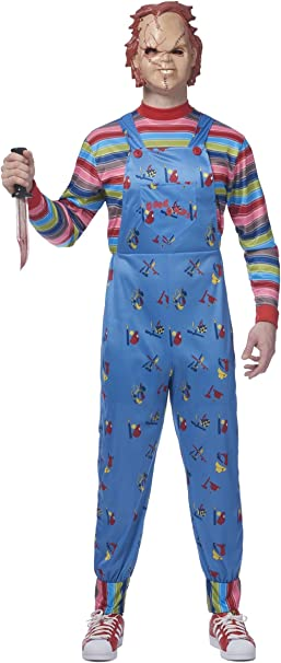 Chucky Plus Size Mens Fancy dress costume 3X: Amazon.es: Ropa y ...