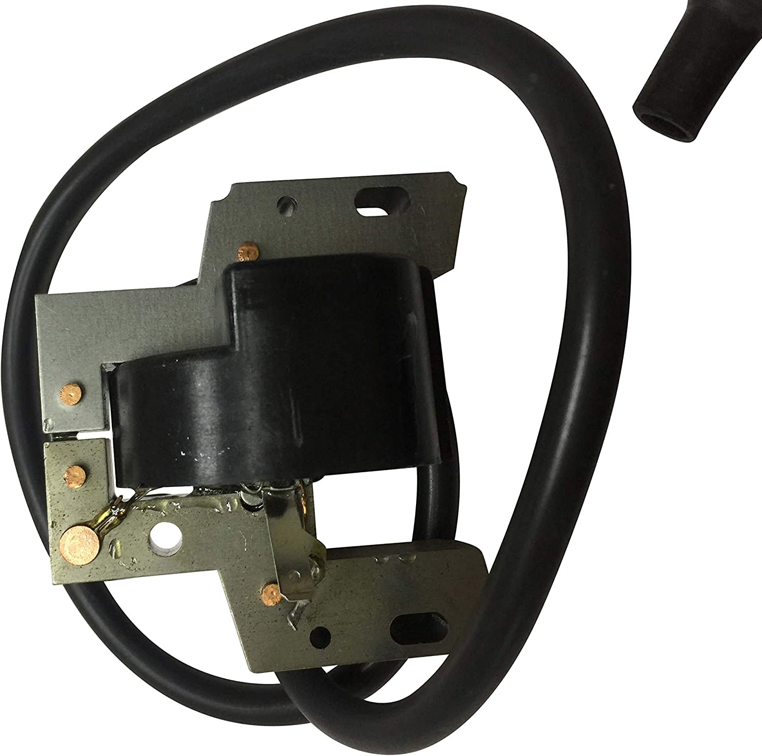 ENGINERUN 492341 Ignition Coil Module Magneto Compatible with Briggs & Stratton 13 14 15HP OHV Vertical Engines Stens 440-433 Oregon 33-347
