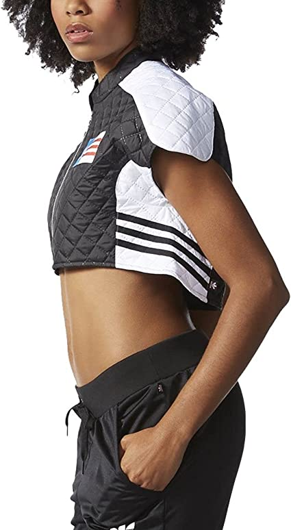 adidas Originals X Rita Ora Planetary Power Cropped Cape Jacket AA3903