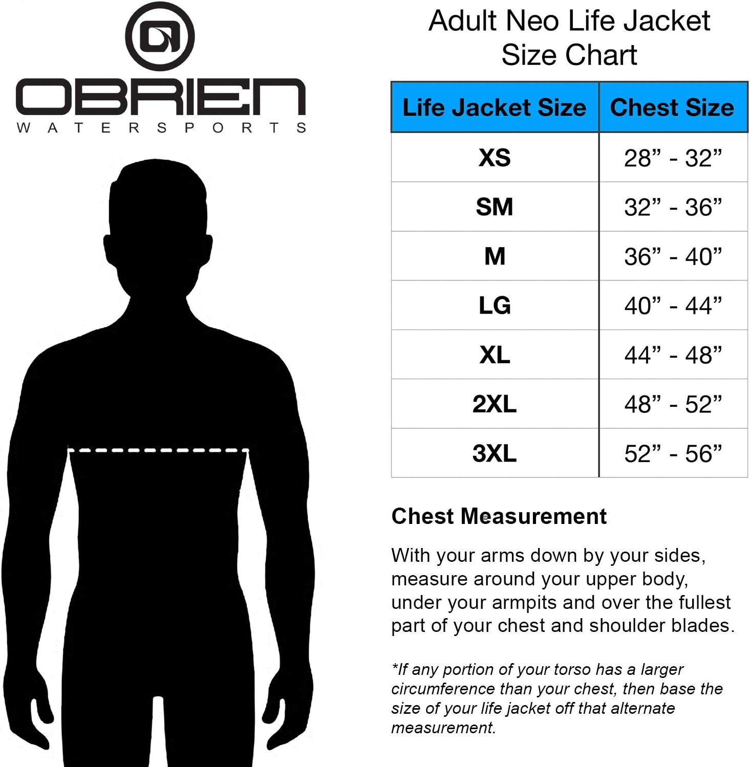 OBrien Traditional Neo Life Mens Vest O BRIEN 2151865