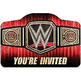 WWE Belt Printed Invitations - 8pc