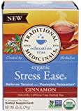 Traditional Medicinals Organic Stress Ease Cinnamon Tea - 16 ct