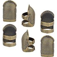 Coudre d/é /à Coudre Protecteur de Doigt 1 Paquet daiguilles r/églables Sashiko d/é /à Coudre /à Coudre Quilting Artisanat Accessoires pour Coudre Broderie Tricot Quilting