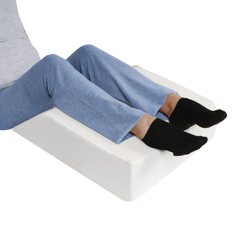 Amazon.com: Support Plus almohada de cama de cuña de pierna ...
