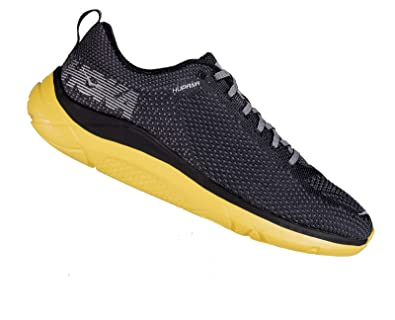 ec854c5f76a40 Amazon.com   Hoka Mens Hupana 2 Black/Yellow 10   Running