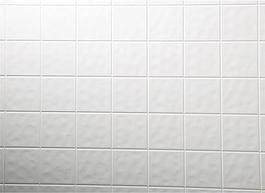 Amazon.com: Dpi Decorative Panel Toned White Tileboard 1/8 ...