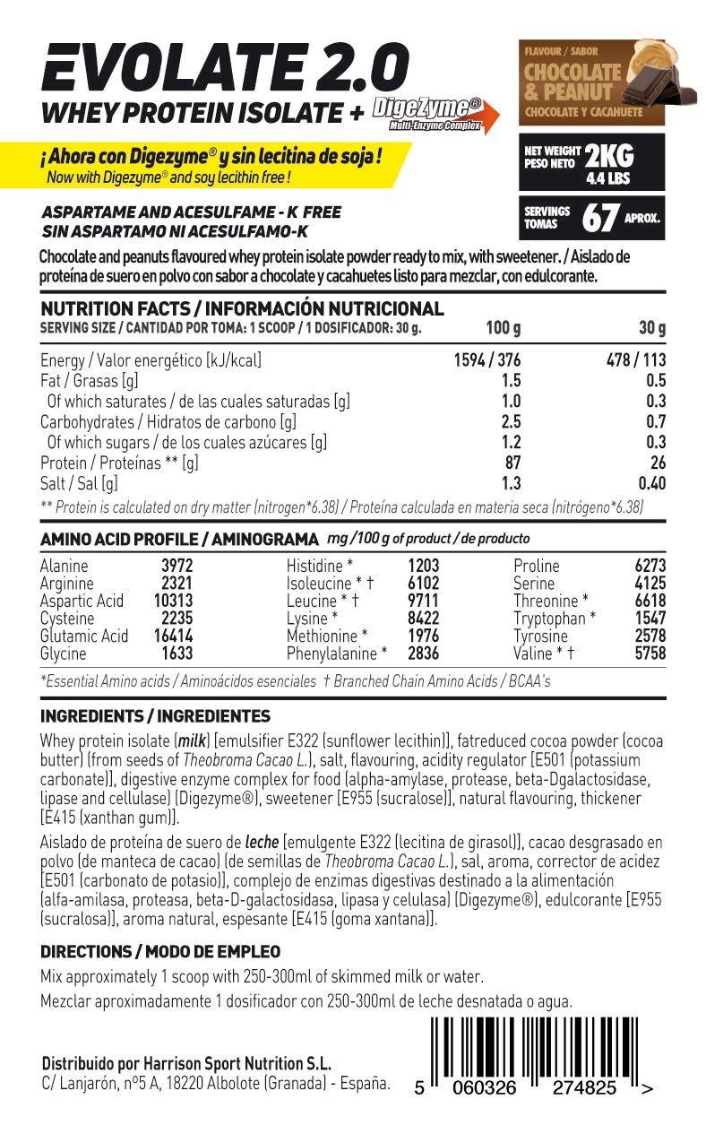 HSN Sports Proteína Aislada de Suero Sabor Tarta de Queso Frutas del Bosque - 2000 gr: Amazon.es: Salud y cuidado personal