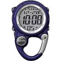 Dakota Watch Company Digital Clip Mini Reloj con Resistencia al Agua, Azul Oscuro